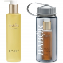 Cleansing Set Hydro Base mit Trinkflasche
