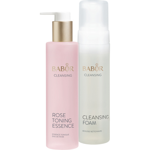 Cleansing Foam und Rose Toning Essence